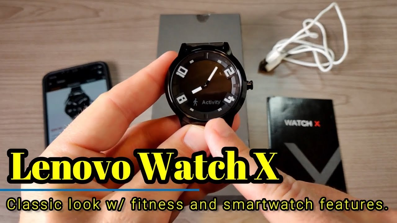 Lenovo Watch X A Classic Watch Smartwatch And Fitness Watch In