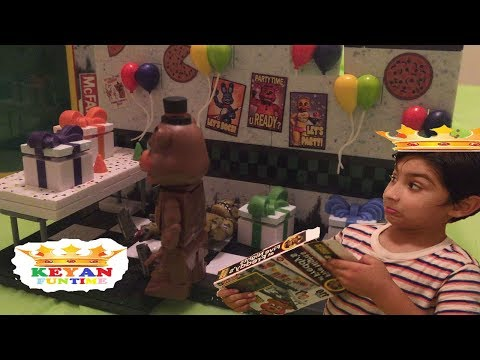 Five Nights at Freddy Toys Keyan FunTime
