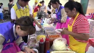 구리전통시장 다문화 음식축제 2014년 7월 5일