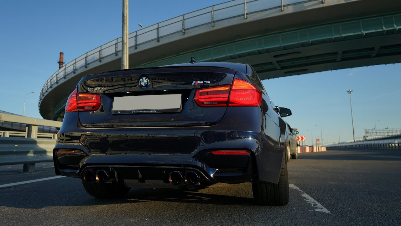 Bmw F80 M3 Sedan W/ Armytrix Cat-Back Exhaust By Vc-Tuning In Russia