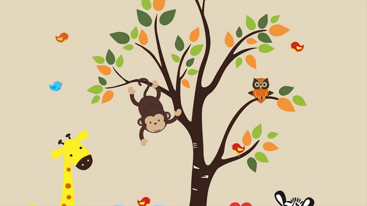 Wall Decals Kids Rooms  sc 1 st  YouTube & Wall Decals Kids Rooms - YouTube