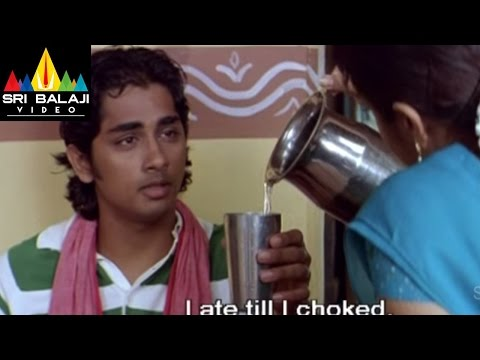 Nuvvostanante Nenoddantana Movie Trisha and Siddharth Scene | Siddharth, Trisha | Sri Balaji Video