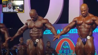 2018 Mr Olympia First Call Out - Phil Heath Vs Shawn Rhoden