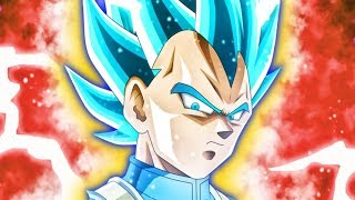 Super Saiyan Blue Goku and Super Saiyan Blue Vegito are characters ...