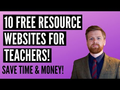 10 Free Resource Websites For Teachers | EYFS & KS1