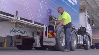 Coupling and de-coupling trailers safely