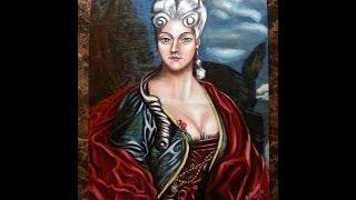 Giovanna Pallominy Ad 1780 Florence Italy By Pallominy Oil Painting On Wood Panel Md Usa November 13