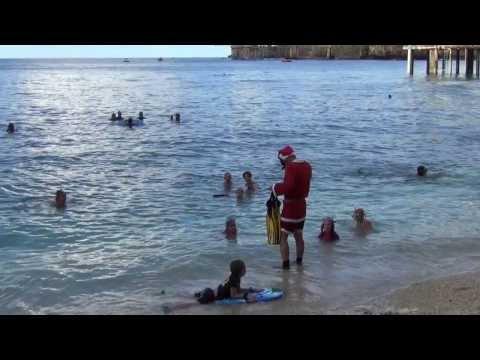 Santa's Christmas Day on Christmas Island