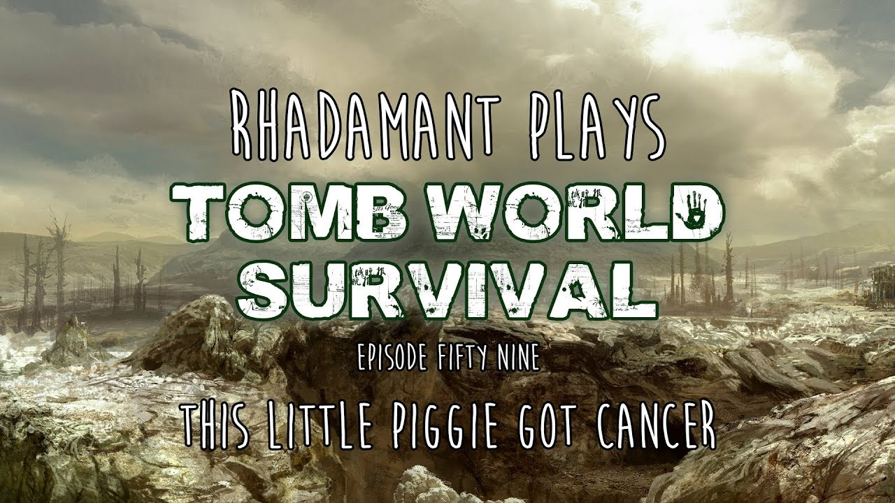 RimWorld / EP 59 - This Little Piggie Got Cancer / Tomb World Survival