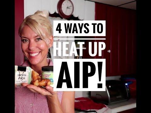 4 Ways to Heat Up AIP!
