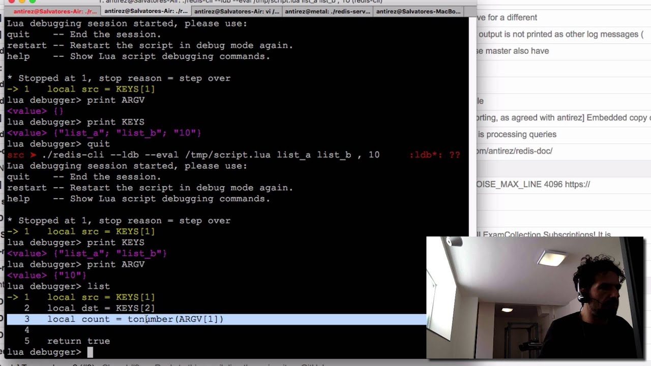 Recent improvements to Redis Lua scripting - <antirez>