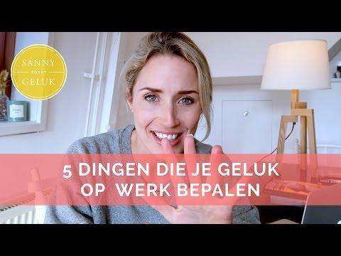 5 dingen die je geluk op het werk bepalen + Vacature | Selfhelp Sanny