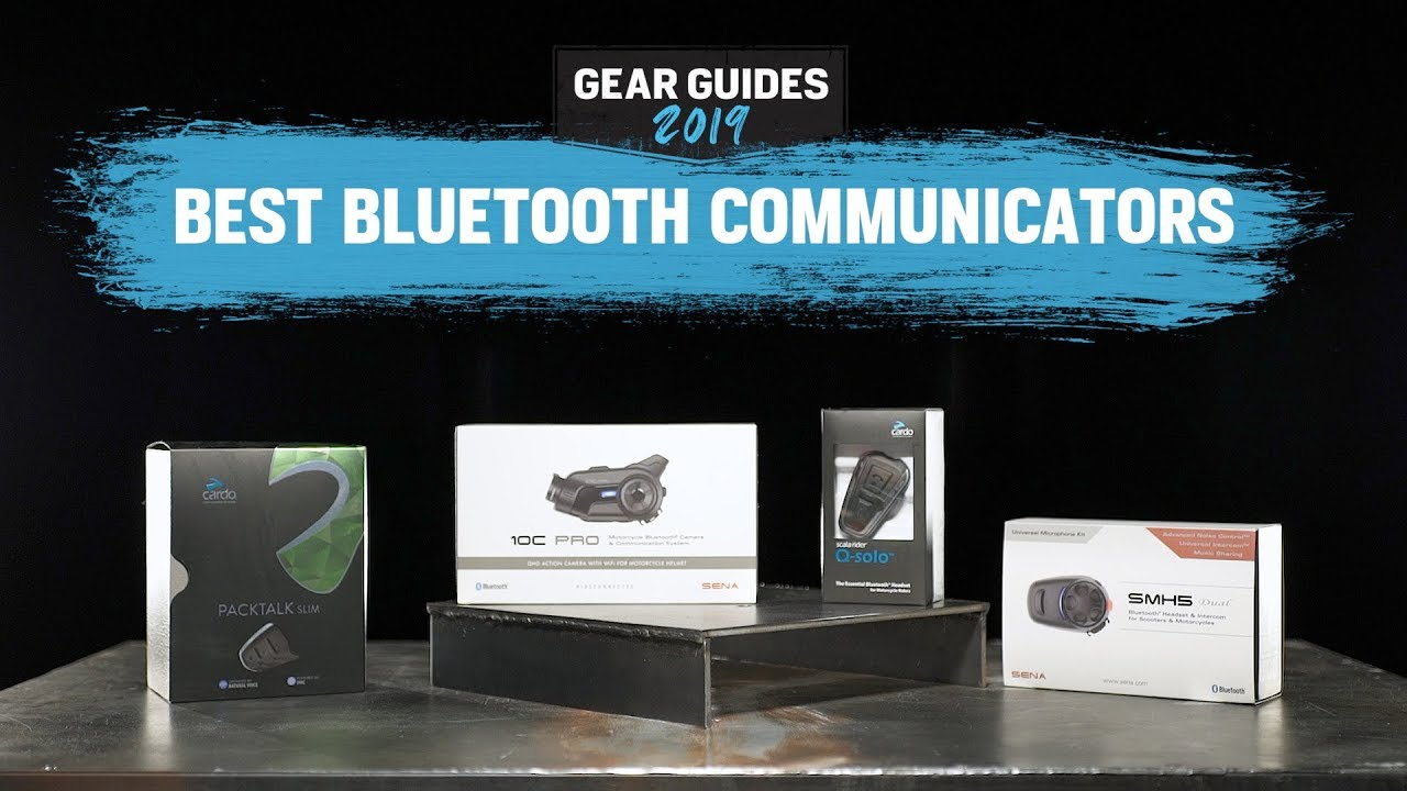 Best Motorcycle Bluetooth 2019