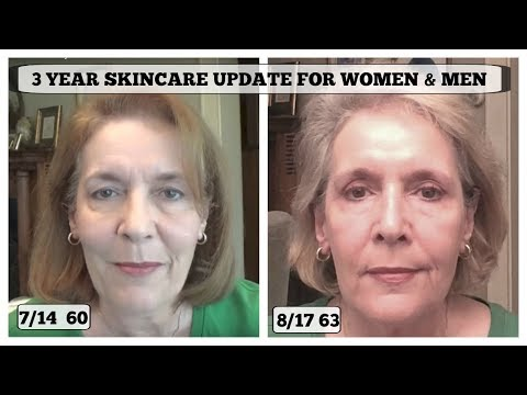 Anti-Aging Skincare- 3 Year Update For Women and Men + Yearly Cost GIVEAWAY CLOSED