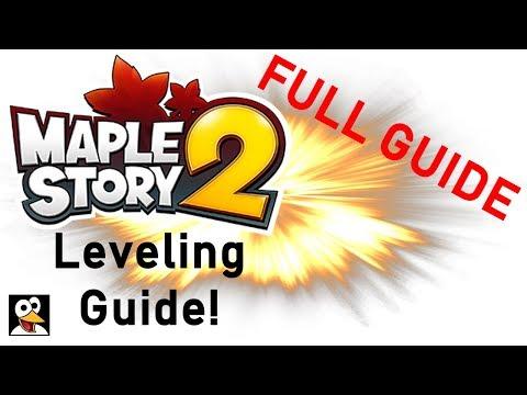 🍁 MapleStory 2 | QUICK & EASY 1 - 80+ LEVELING GUIDE! | Full Guide!