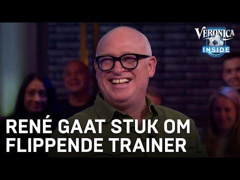 René gaat stuk om flippende amateurtrainer | VERONICA INSIDE