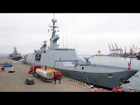 В Одессу прибыл французский ракетный фрегат-невидимка Лафайет