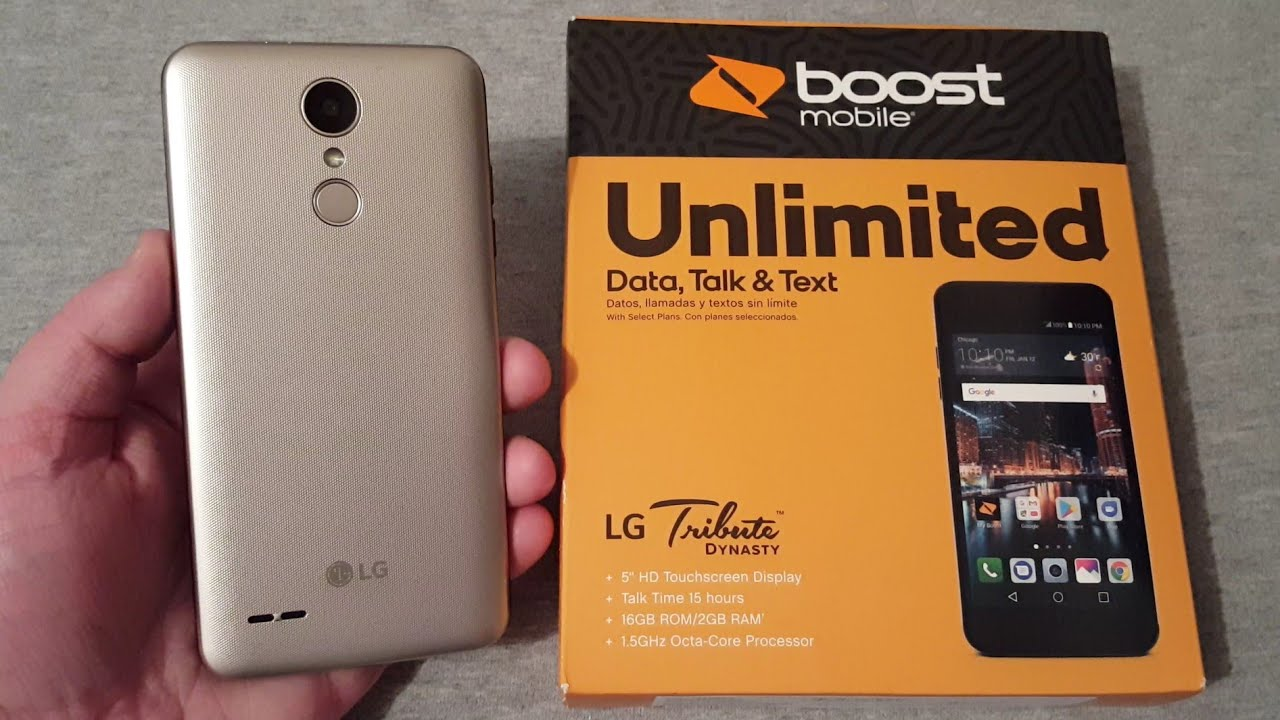 LG Tribute Dynasty Unboxing & First Look (Boost Mobile)