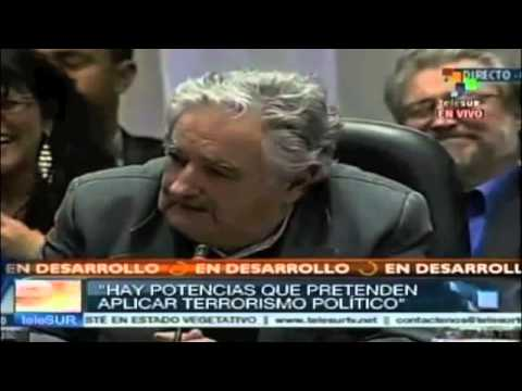President Mujica reacts to European nations banning airspace to President of Bolivia Evo Morales