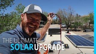 THE ULTIMATE RV SOLAR UPGRADE (KYD)