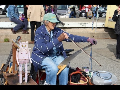 Jackie Jones & Her Tap-Dancing Cat at Alemany Farmers Market!