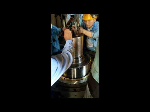 how to install roller shaft for mill machine in coal fired power plant