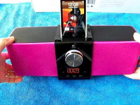 Review Of The Logitech Pure Fi Express Dock for iPhone/iPod