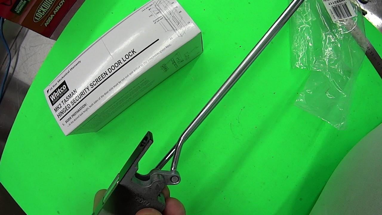 Whitco Tasman Mk2 3 Point Locking Kit Youtube