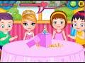 Baby Barbie Birthday Party Online Free Flash Game Videos GAMEPLAY