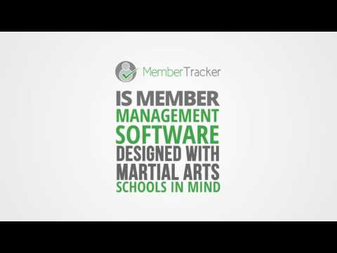 Management software for martial arts schools