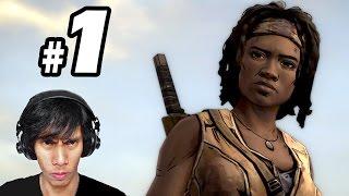 The Walking Dead Michonne Episode 1 - In too Deep - PART 1- Gameplay Walkthrough