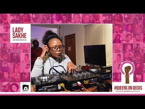 #QueensOnDecks LIVE with LADY SAKHE on #BestBeatsTv