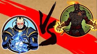 Shadow Fight 2 ТИТАН VS ВУЛКАН