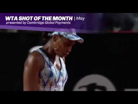 2017 WTA May Shot of the Month | Venus Williams