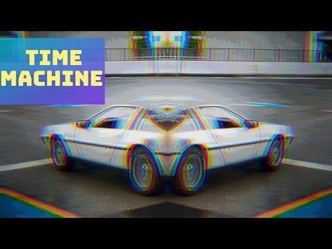 DeLorean: THE TIME MACHINE Evolution In 10 Different Games!