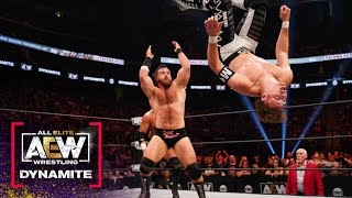 Was the Great Tag Team of FTR Able to Prevail Against Upstart Dante Martin? | AEW Dynamite, 9/15/21