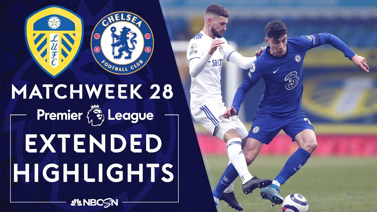 Leeds United v. Chelsea | PREMIER LEAGUE HIGHLIGHTS | 3/13/2021 | NBC Sports