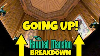 Haunted Mansion Breakdown Going up the Stretching Room Disneyland