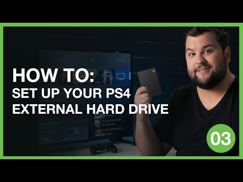 How to Set Up Your PS4 External Hard Drive | Inside Gaming With Seagate