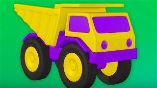 Dump truck - Big trucks for children - Cars for kids - Zeem Zoom