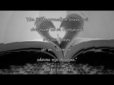 Ljubavni Citati Za Voljenu Osobu