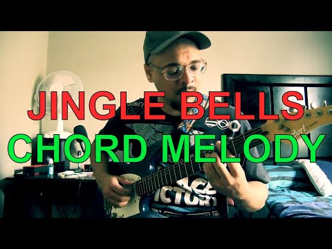 Jingle Bells | Christmas Carol | Guitar Instrumental | Jazz Guitar Chord Melody