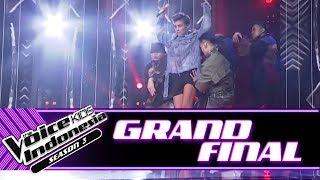 "AgnezMo ""Long As I Get Paid"" | Grand Final | The Voice Kids Indonesia Season 3 GTV"