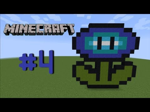Minecraft Pixel Art Fleur De Glace Mario 4