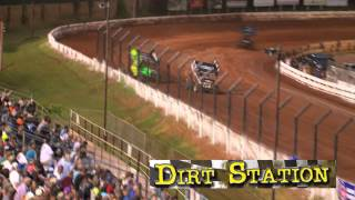 July 18, 2014 Williams Grove - WoO:  Kinser - Taylor  heat race.