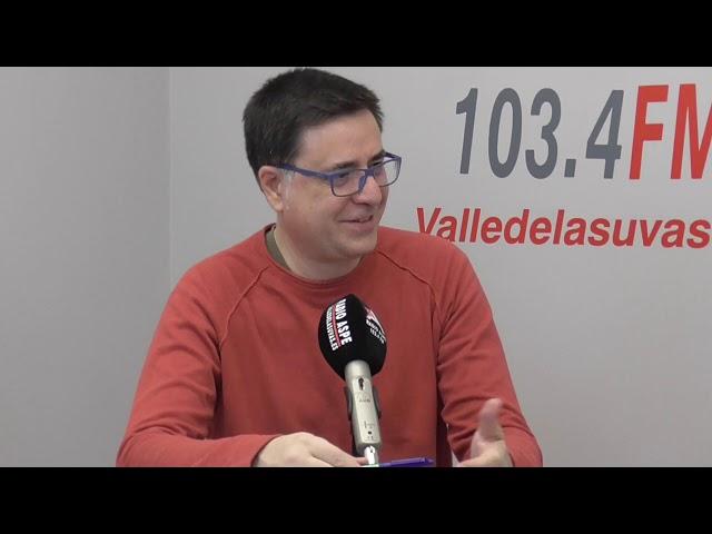 Entrevista en estudio Concierto de Navidad con Simón Orfila 2019 #Aspe