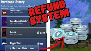 "FORTNITE ""REFUND SYSTEM"" IS BACK! SELLING MY FORTNITE SKINS REFUNDING FOR ""FREE"" VBUCKS!"