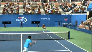 Roger Federer VS Rafael Nadal - Top Spin 4 (PS3)