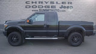 SOLD! 9036 2014 FORD F250 SUPERCAB 6.7L POWERSTROKE WISCONSIN FOND DU LAC WALK AROUND REVIEW