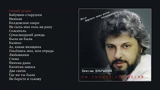 Вячеслав Добрынин - Вы любите эти песни (official audio album)